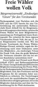 2016-05-23 Neckargemünd Freie Wähler unterstützen FV